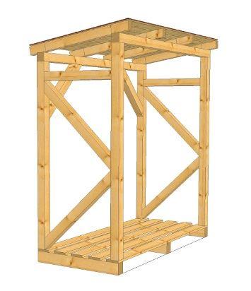 Spojovací materiál potřebný na dřevník