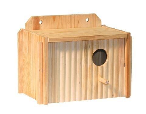 Budka pro papouška dřevěná