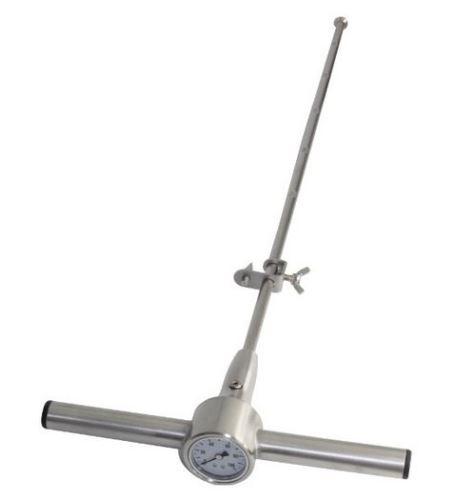 Penetrometr půdní ruční Agreto nerezový - tester kompaktnosti půdní vrstvy