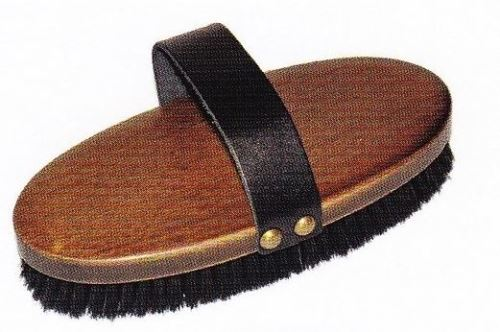 Kartáč na koně KELLER Body Brush oválný 210 x 90 mm