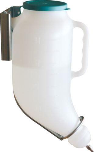 Napájecí láhev  PRONA plus pro selata 4,5 l s plastovým držákem