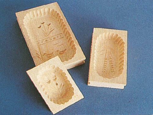 Forma na máslo MILKY dřevěná 250 g