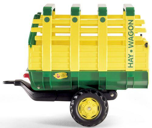 Rolly Toys - vůz na seno žlutozelený