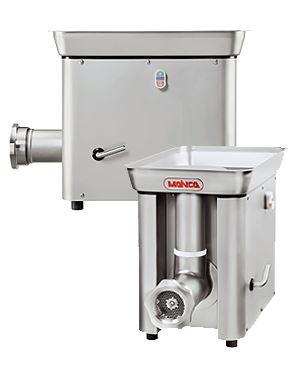 Řeznický mlýnek na maso elektrický MAINCA PC 98 třífázový motor 800 kg/hodina