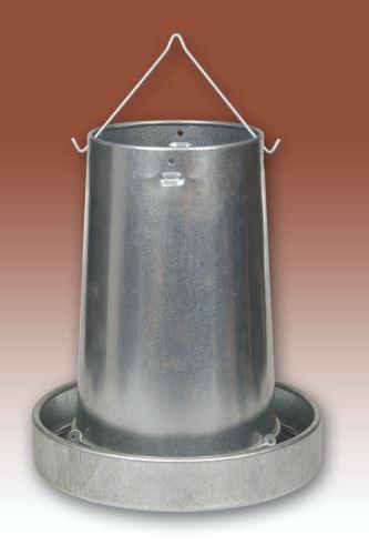 Závěsná krmítka kovová pro kuřata, slepice, holuby, bažanty a koroptve 5, 10 a 20 kg