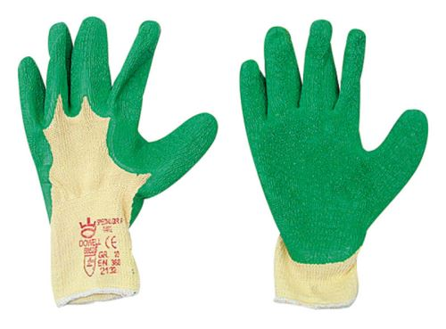 Lesnické rukavice latexové