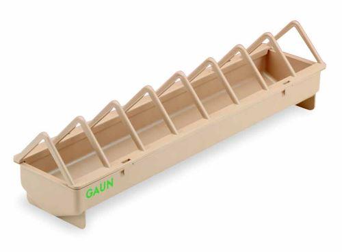 Krmítko plastové pro drůbež 50 a 100 cm úzké a široké mezery příček