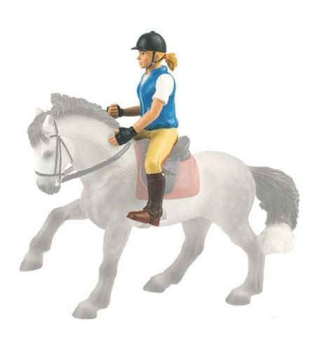 Bullyland - figurka jezdkyně