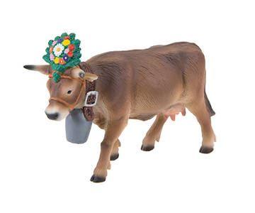 Bullyland - figurka alpské kráva Darina