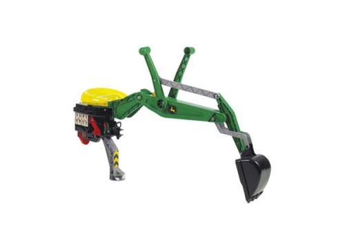 Rolly Toys - bagr John Deere se zámkem zelený