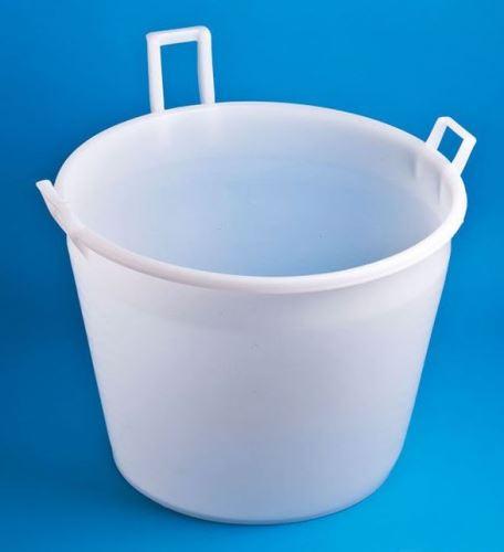 Vědro na mléko plastové se 3 uchy 100 l