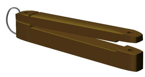 Izolátor pro extra širokou pásku OLLI 100 mm