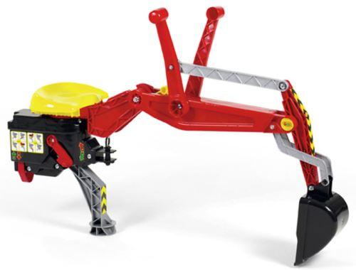 Rolly Toys - bagr se zámkem červený