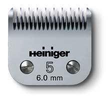Stříhací hlava na psy 5/6 mm pro Heiniger SAPHIR