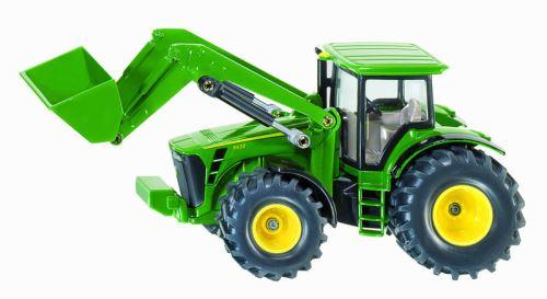 Siku - traktor John Deere 8430 s čelním nakladačem 1:50