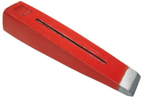 Štípací klín do dřeva kovaný s drážkou 240 x 55 mm