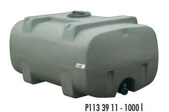 Cisterna na vodu plastová stohovatelná La Gée Monobloc 1000 l