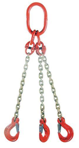 Nosný řetěz pro třívětvé zavěšení síla 8 mm délka 1 m