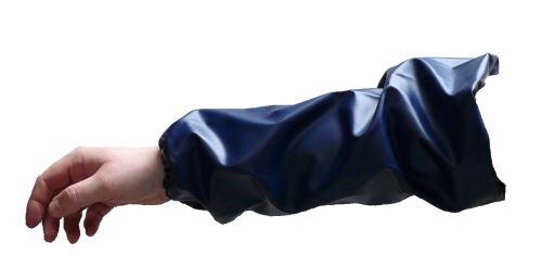 Rukávce dojiče modré - pár