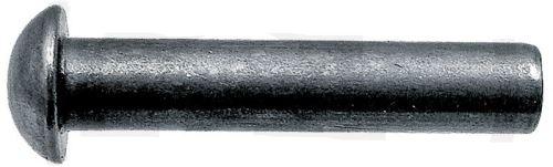 Půlkulaté nýty 5,4 x 14 mm DIN 660 na uchycení žabek, žacích nožů na žací lišty 142 ks