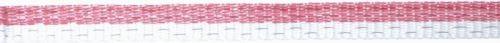 Červeno-bílá páska OLLI 20 mm/200 m pro elektrický ohradník