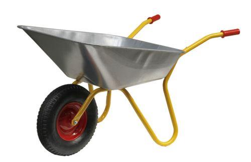 Zahradní kolečko Ravendo typ BD 1002 objem 100 l plechové