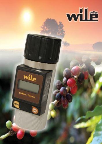 Wile Coffee vlhkoměr pro měření vlhkosti kávy a kakaových bobů - použitý, náhradní obal