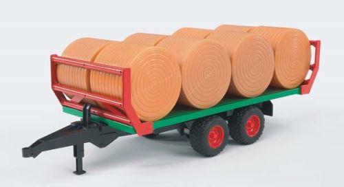 Bruder - přepravník na přepravu kulatých balíků