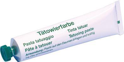 Tetovací pasta zelená 60 g
