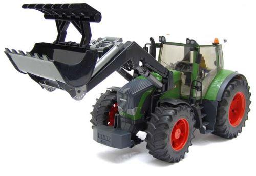 Bruder - traktor Fendt 936 Vario s čelním nakladačem