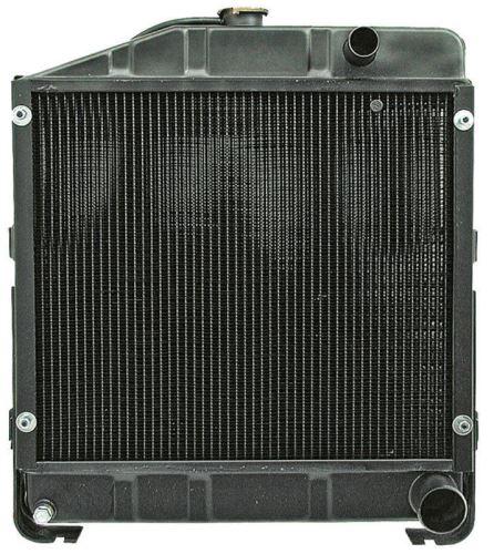 Chladič vhodný pro Case IH výška 550 mm šířka 490 mm
