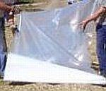 Silážní plachta podkladová - mikroplachta 12 x 50 m, 0,04 mm, čirá