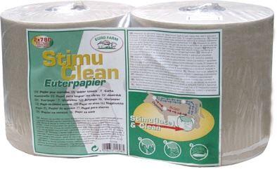 Suché papírové utěrky na vemena STIM v roli balení - 2 x 780 ks