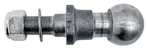 Kolík s kulovou hlavou K50 pro spodní závěs třetího bodu pro tažnou lištu