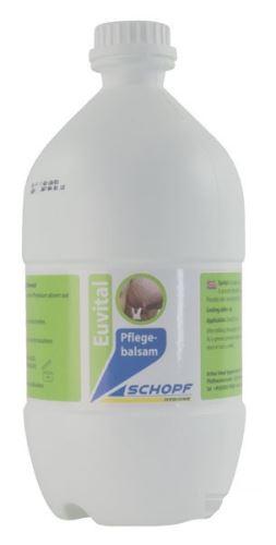 EUVITAL balzám na vemena po dojení 2,5 l s japonským mátovým olejem doplňující balení