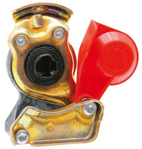 Hlava spojky Wabco pro tažná vozidla červená M22 x 1,5