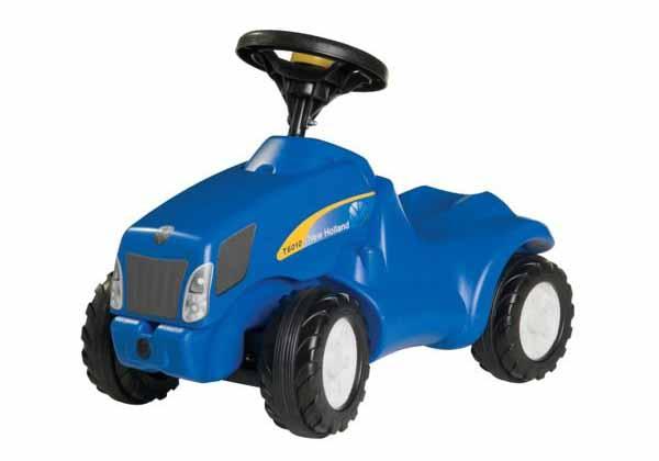 Rolly Toys - odstrkovací traktor New Holland T 6010 modelová řada Rolly Minitrac