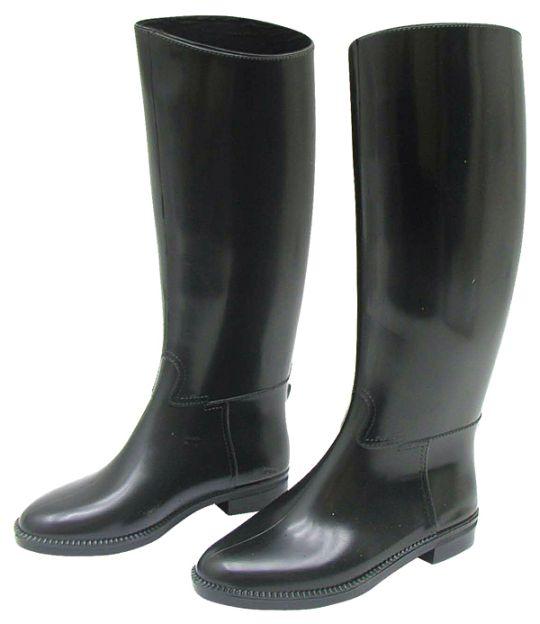 Dětské vysoké jezdecké boty velikost 35 černé