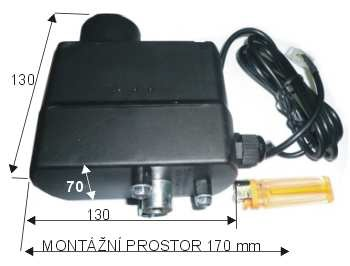 Motorek na gril UMR03 12V do 120 kg