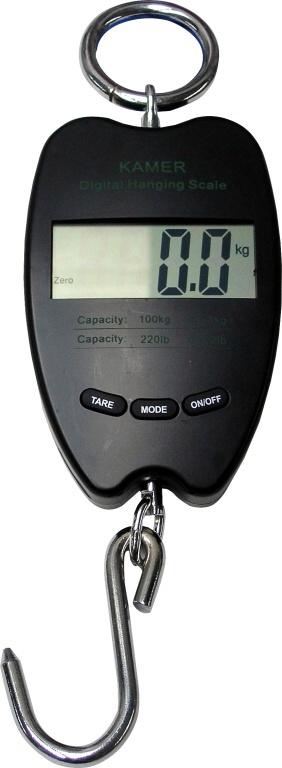 Závěsná digitální váha do 100 kg