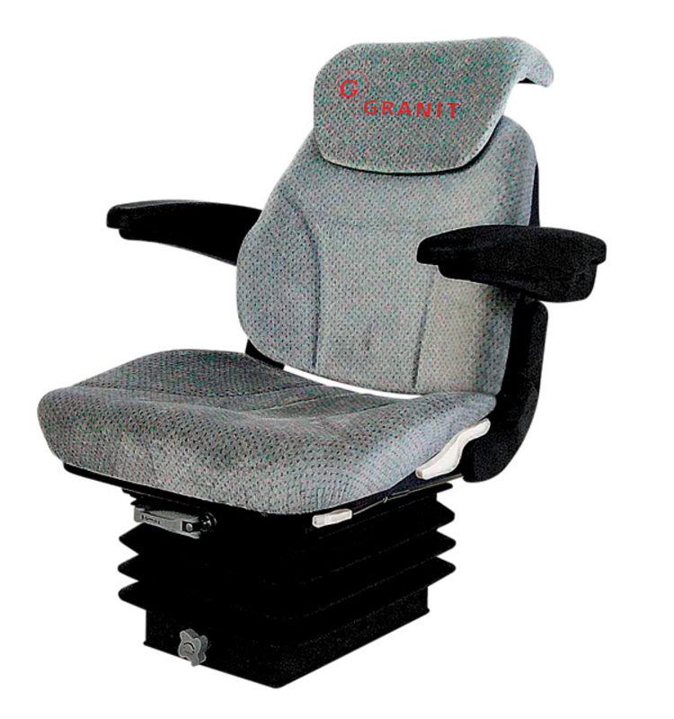 Traktorová sedačka Granit Super-komfort vzduchové odpružení 24 V