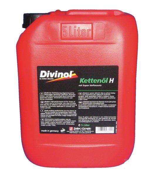 Olej na pilové řetězy minerální Divinol 5 l