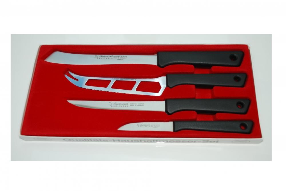 Dárková sada kuchyňských nožů Burgvogel Solingen 2115.071.00.0 - 4 dílná