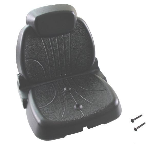 Rolly Toys - traktorová sedačka černá