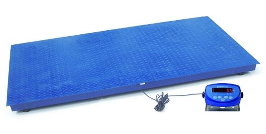 Plošinová váha Agreto 1,2 x 2 m na 2000 kg s indikátorem XK3