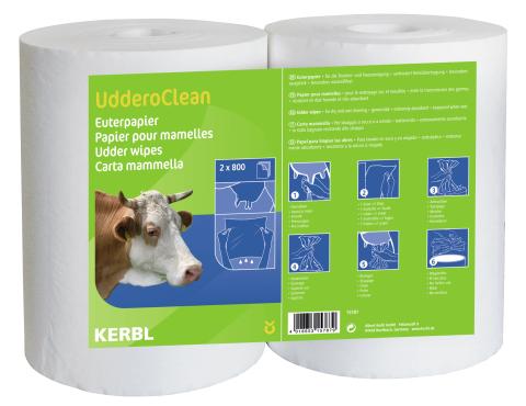 Papír na vemena Uddero Clean pro mokré čištění 2 x 800 útržků