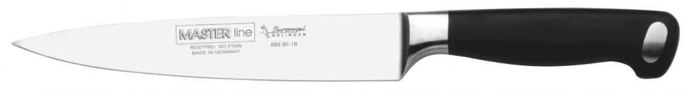 Řeznický filetovací nůž BURGVOGEL Solingen 18 cm Master Line