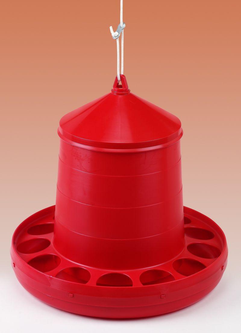 Závěsné krmítko plastové pro drůbež 12 kg