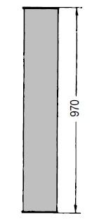 OKR 160 Trubka Kongskilde 1 m pozinkovaná