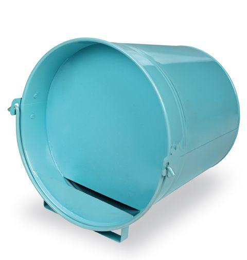 Napájecí kbelík 12 l Gaun pro drůbež plechový barvený